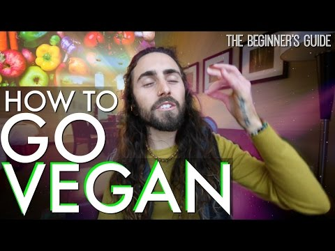 How to Go Vegan Today! (A Beginner's Guide to Veganism)