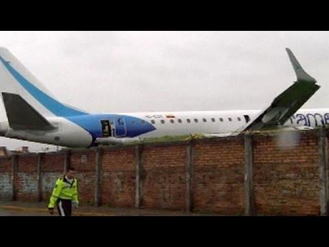 Ισημερινός: Προσγείωση θρίλερ για 93 επιβαίνοντες
