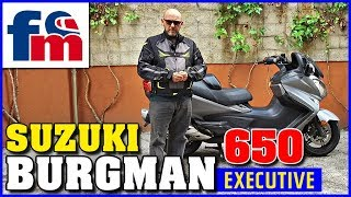 4. Suzuki Burgman 650 Executive | Review al detalle
