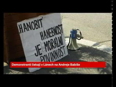 """Andrej Babiš utekl před """"zuřivými"""" demonstranty - Milion Chvilek"""