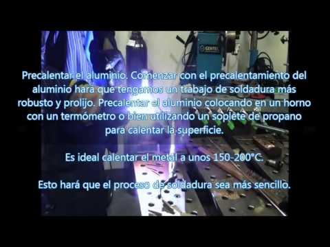Soldadura TIG aluminio - Tips para soldadura de aluminio TIG Máquina EWM - Antorcha TBi.