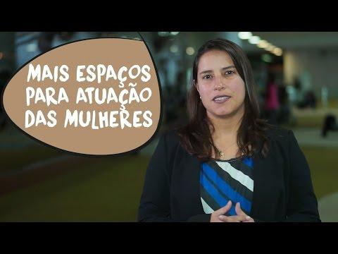 Raquel Lyra: mais espaços para atuação das mulheres