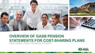 Overview of GASB 68