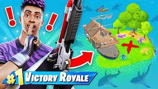 Random *SECRET* BOAT ONLY CHALLENGE (Fortnite)