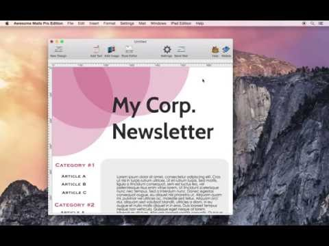 How to retrieve email design HTML source code using Awesome Mails for Mac