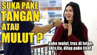 Video Pake Mulut??? Di Telan Atau Di Buang?!   SOSIAL EKSPERIMEN INDONESIA MP3, 3GP, MP4, WEBM, AVI, FLV Maret 2019