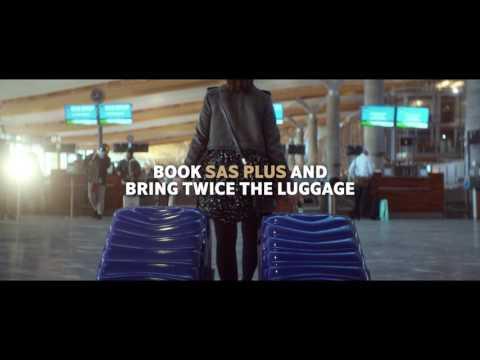 SAS PLUS 20s Bagage DK