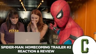 Spider-Man: Homecoming Trailer #2 Reaction & Review by Collider