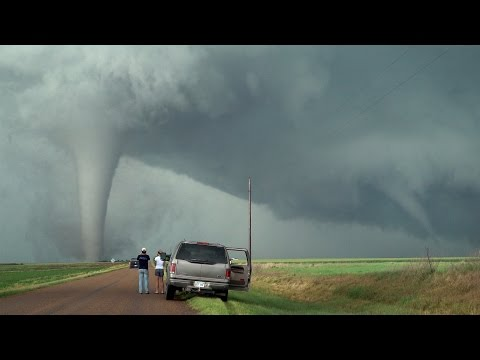 Tornado Twins & Triplets!!! Unusual Twisted Tornado Family Of May 24, 2016