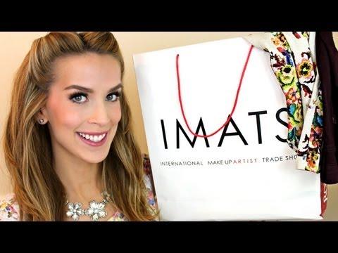 HAUL: Topshop Makeup ♡ IMATS NY   LeighAnnSays видео