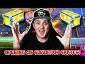 The Crate Luck Is Still INSANE! | Opening 25 BRAND NEW Elevation Crates in Rocket League!