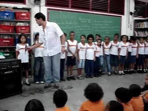 Inauguração da sala de leitura da E.M. Gonzaga da Gama Filho - 2009