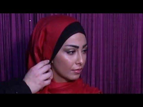 وضع الحجاب بشكل أنيق