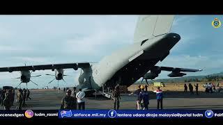 Video KEJAYAAN PESAWAT A400M TUDM MENDARAT DI LAPANGAN TERBANG MUTIARA SIS AL-JUFRI, PALU INDONESIA MP3, 3GP, MP4, WEBM, AVI, FLV Februari 2019