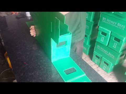Assembling a Correx Nuc Transport Bee Box