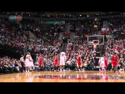 Luke Babbitt beats the buzzer against Clippers
