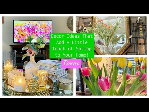 Karen's Decor Ideas That Add A Little Touch Of Spring To Your Home | The2Orchids