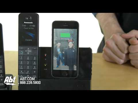 Panasonic Dock Style Telephone With iPhone 5 Integration Capability KXPRL262B Overview