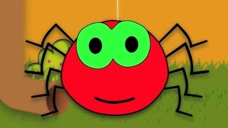 incy wincy Spinne Reim | Kinderreime Sammlung | Kinderreime für Kinder