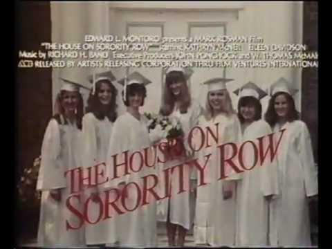 HOUSE ON SORORITY ROW. 1983