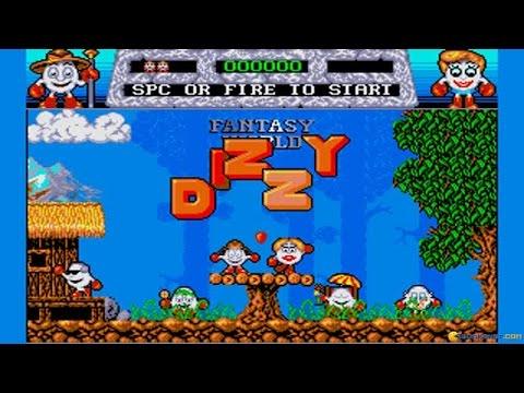 Dizzy: Fantasy World of Dizzy gameplay (PC Game, 1989)