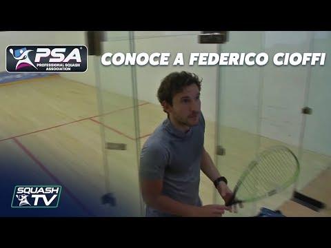 Conoce a Federico Cioffi - Jugador Profesional de Squash Argentino [Español]