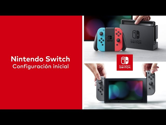 Nintendo Switch – Primer uso