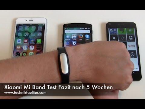 Xiaomi Mi Band Test Fazit nach 5 Wochen