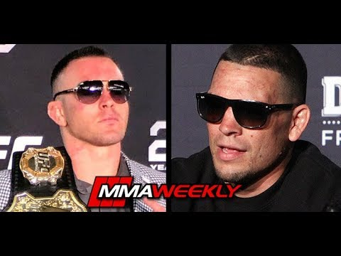 Nate Diaz Doesn't Even Know Who Colby Covington Is  (UFC 241)