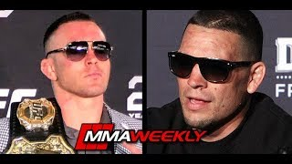Nate Diaz Doesn't Know Who Colby Covington Is  (UFC 241) by MMA Weekly
