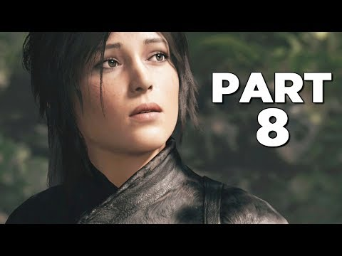 SHADOW OF THE TOMB RAIDER Walkthrough Gameplay Part 8 - EAGLE (PS4 PRO)