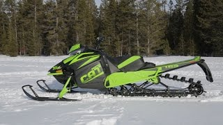 9. 2018 Arctic Cat M8000 Mountain Cat Review