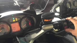 2. BMW R1200RT 2011 START UP