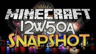 Minecraft: Snapshot 12w50a - Item-Switching Text, Thorns, and Firework Sounds!