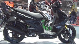 5. Kymco Super 8 50 (2019) Exterior and Interior