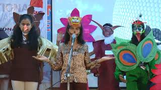 RIS STEPS FOR GLOBAL CONSERVATION OF FLORA AND FAUNA The students of Rayat International School performed a skit ...