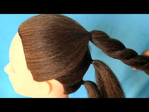 Hairstyles for long hair - Juda Hairstyle With New Trick  Wedding Hairstyle For Long Hair/Medium Hair