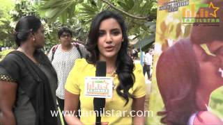 Priya Anand at Irumbu Kuthirai Movie Press Meet
