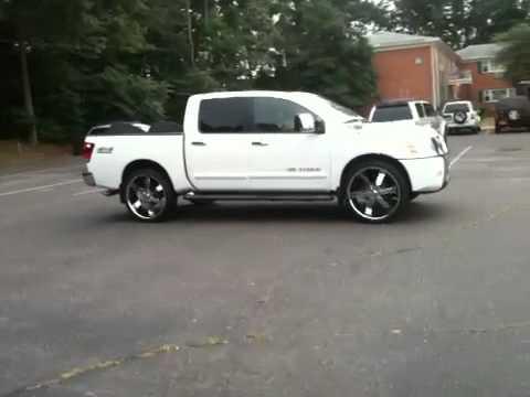 Nissan Titan wheels 26
