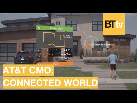 Technology is Changing Everything - AT&T CMO on a Connected World | BrandTech TV talks | 3