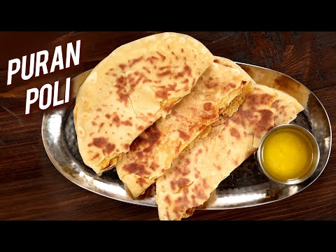 Puran Poli | HOLI Special Recipe | How To Make Pooran Poli At Home | Varun Inamdar