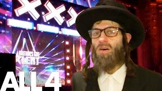 Video Simon Cowell & BGT Epically Pranked By Rapping Rabbi MP3, 3GP, MP4, WEBM, AVI, FLV April 2018