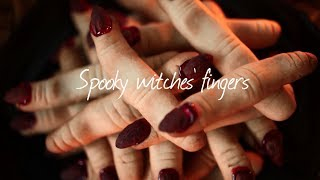 How to make witches' fingers