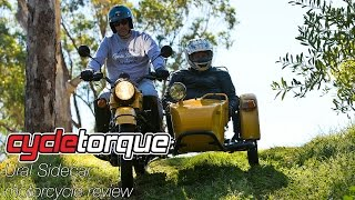 8. Ural Sidecar motorcycle review