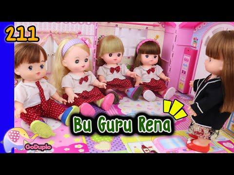 Mainan Boneka Eps 211 Bu Guru Rena - GoDuplo TV