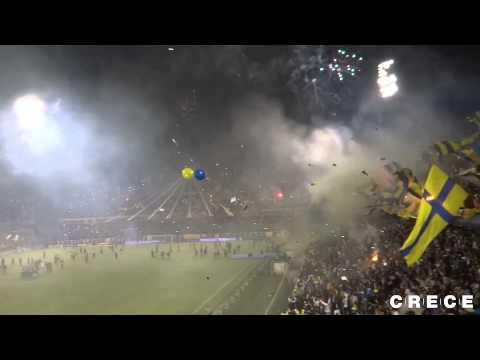 Recibimiento. Central 0 - Belgrano 0. Torneo Final 2014