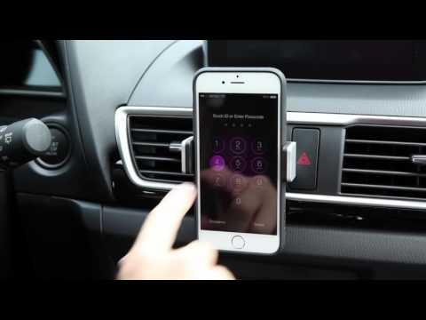 Support de voiture universel fixation grille d'aération Belkin