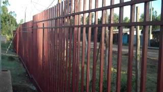 Ethiopia Oct 2009 Team Accomplishments: Pan Of Fence, Orphanage, Playground, Girls Playing