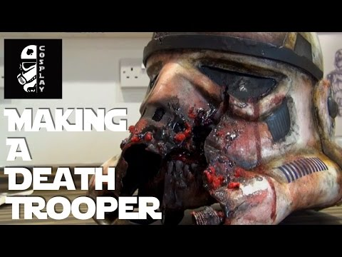 Making (Zombie) Death Trooper Stormtrooper Armour