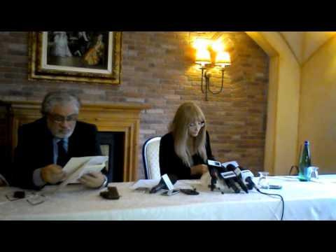 Conferenza stampa di Manuela Petescia, i video di Telemolise e di Moliseweb